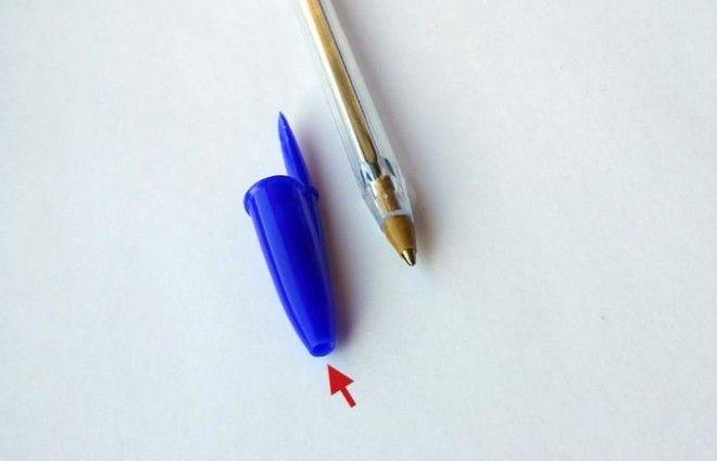 Как сделать колпачок для ручки 586