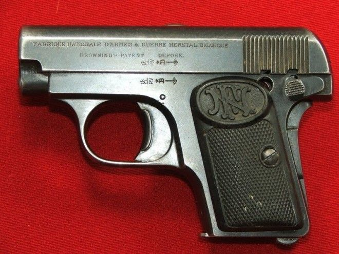 Browning M1906 Браунинг история оружие