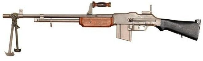 Browning M1918 Браунинг история оружие