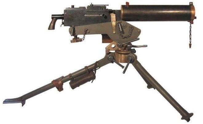 Browning M1917 Браунинг история оружие