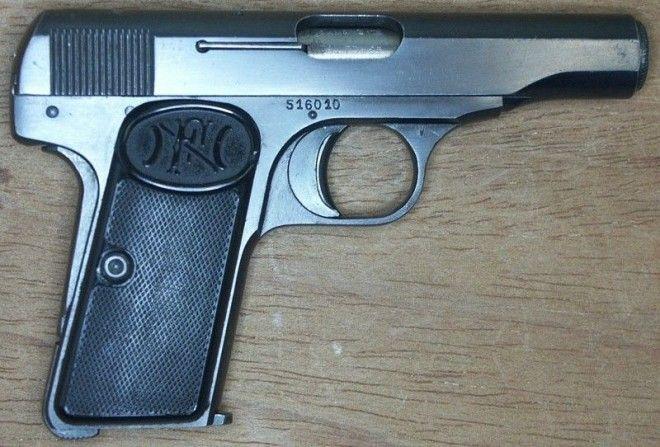 Browning FN Model 1910 Браунинг история оружие