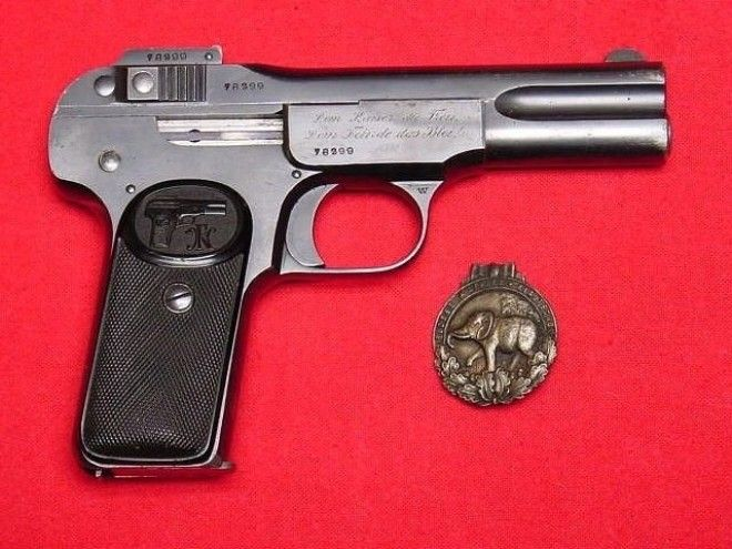 Browning M1900 Браунинг история оружие