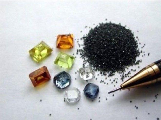 Синтетический алмаз в домашних условиях