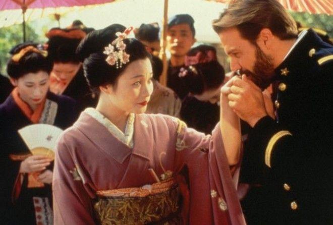 Кадр из фильмаоперы Мадам Баттерфляй 1995