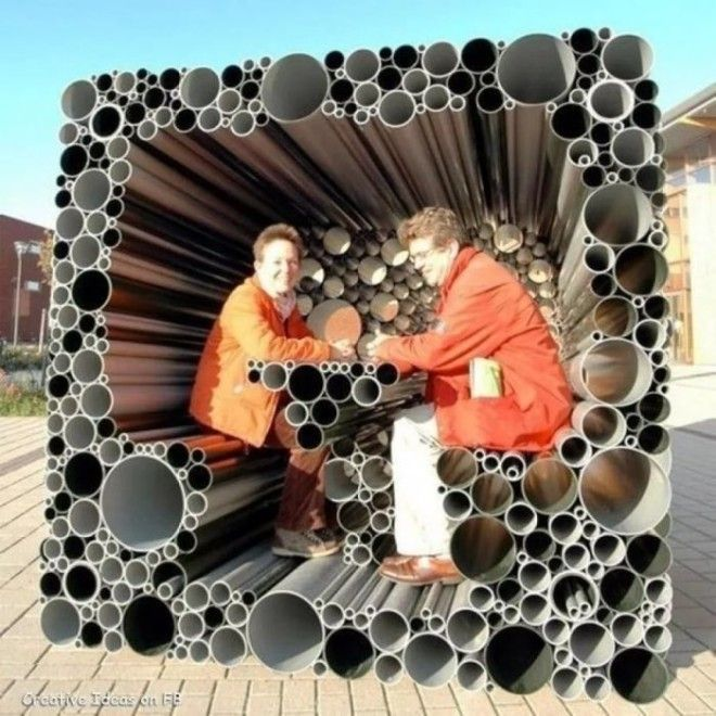 Беседка из канализационных труб своими руками фото 44