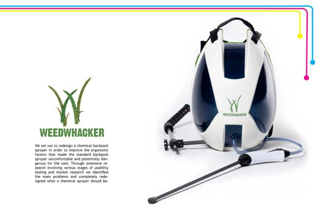 Weedwhacker chemical backpack sprayer
