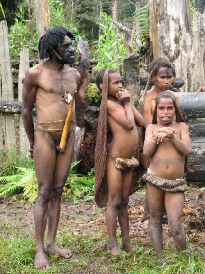 папуасов порно племен